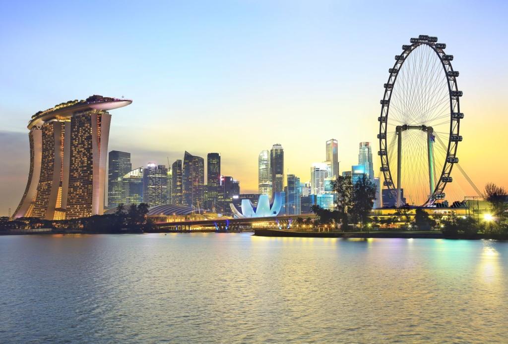 Global city of Singapore